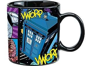 Vandor 16161 Doctor Who Ceramic Mug, 20-Ounce, Multicolored