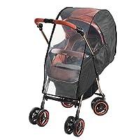 康贝多功能婴儿车用雨罩 黑色