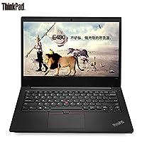 (下单送包鼠)ThinkPad 联想 14英寸轻薄窄边框商务手提笔记本电脑 翼E480-20KNA001CD(i5-82500U 8G 128GSSD+500G硬盘 2G独显 win10)