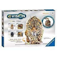 Ravensburger 4S Vision Wild Cats Slot Fit 3D 拼图
