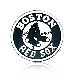 Boston Red Sox Silver Auto Emblem