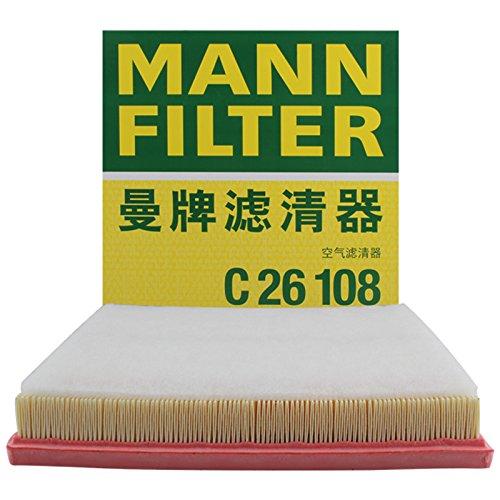MANNFILTER 曼牌滤清器 空气滤清器C26108(别克英朗/雪佛兰科鲁兹)