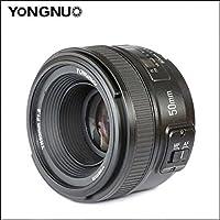 永诺 尼康口 微距 定焦 镜头YN 50 mm A F 1.8 G 小痰盂 大光圈AF镜头 (尼康口)