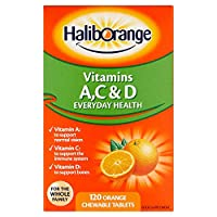 Haliborange Kids 维生素 A,C 和 D 橙片 120