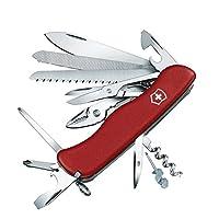 Victorinox 维氏军刀 瑞士多功能军刀 0.9064-红色(111毫米 21种功能)