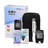 Omron欧姆龙 血糖仪HGM-112(赠试纸50片(独立包装)+采血针(50支))(医) (特)(新老包装 随机发货)