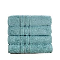 Manor Ridge 土耳其棉 700 GSM 毛巾套装 水绿色 4-Pack Bath Towel 5TK4BTLZ-AQA-ST