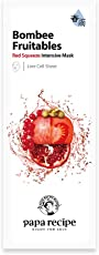 Papa recipe 春雨 果蔬面膜 红色 补水修复 25g*10片/盒 (韩国品牌)