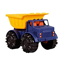B.Toys 比乐 迷你卡车 沙滩 洗澡玩具-海军蓝  婴幼儿童益智玩具 礼物 18个月+ BX1418Z