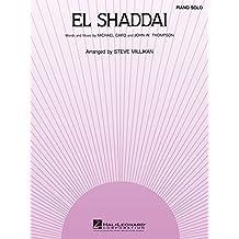 El Shaddai Sheet Music: Piano Solo (English Edition)