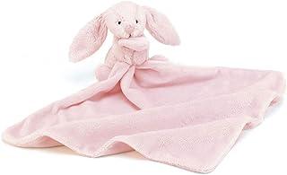 Jellycat 害羞粉色邦尼兔毛绒玩具 带安全毯