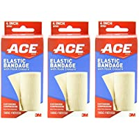 ACE Elastic Bandage with Hook Closure, (Pack of 2)