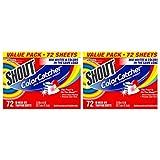 Shout Color Catcher 72 ct,2 un