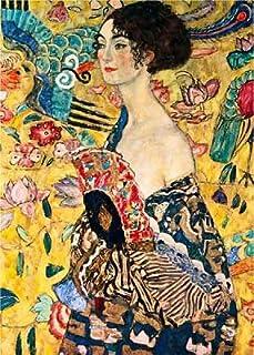 1000块拼图 - Gustav Klimt :带格层的女性
