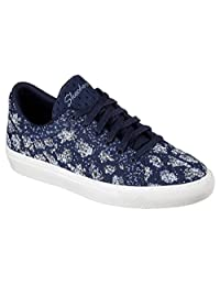 SKECHERS Womens Vaso - Knit Lace-Up Sneaker