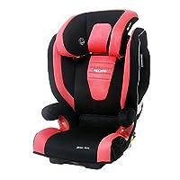 德国RECARO Monza Nova 2 Seatfix莫扎特2代儿童安全座椅—Ruby 红黑色 适合3岁-12岁宝宝,座椅宽大,带硬isofix接口,侧面加固防护,带充气头靠和音响系统(包邮包税)