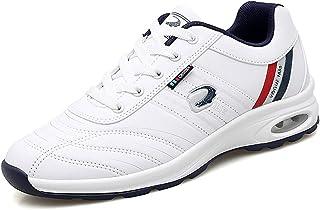 ZAKEY 男式防水高尔夫鞋无铆钉休闲高尔夫运动鞋青少年运动步行时尚运动鞋