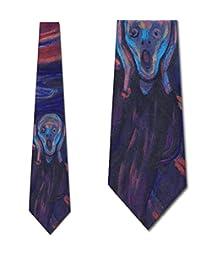 THE scream ties edvard munch neckties 来自三 rooker