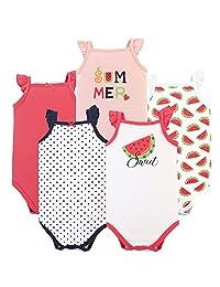 Hudson Baby 宝宝无袖紧身衣5个装