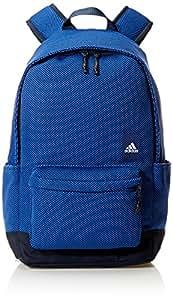 adidas 阿迪达斯 中性 双肩背包 CF9006 学院藏青蓝/高光蓝 S18/白 M