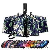 雨伞防风旅行雨伞紧凑折叠反向伞,LANBRELLA