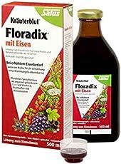 Salus floradix 德国铁元草本营养液红色版500ml(德国品牌)包税包邮