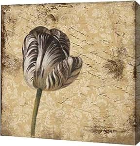 "PrintArt GW-POD-23-JG-SQ-096A-16x16""Flower1"" 由 Jace Grey Gallery Wrapped Giclee 油画艺术印刷品,40.64 厘米 X 40.64 厘米"