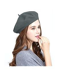 WW004 冬季 * 羊毛温暖法国艺术 Basque 贝雷帽