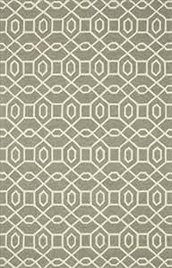 Loloi Ventura 室内/室外地毯 - 灰色/象牙色