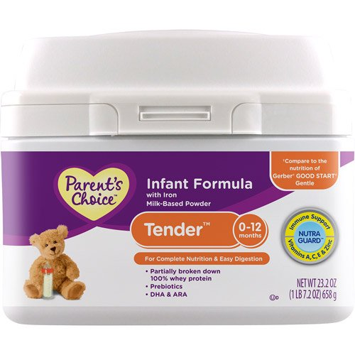 Parent\'s Choice Tender 粉末*,含铁,