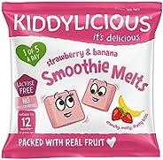 Kiddylicious童之味 草莓香蕉溶溶豆6g(16包)