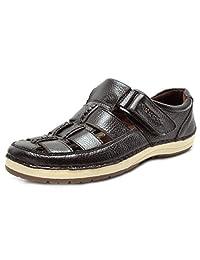 Bruno Marc 男士 Havana 户外渔夫凉鞋 01/Brown 7.5 M US