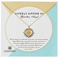 Dogeared 女式 Angels Among Us 项链 金色 均码