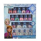 迪士尼小号 polish 集 Frozen 18 Count Nail Polish Set