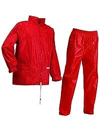 Lyngsoe LR104054-02-XXL 尺码 2XL 码雨衣夹克和裤子 - 红色-P 红色 Small LR104054-02-S