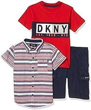 DKNY 男孩短裤套装