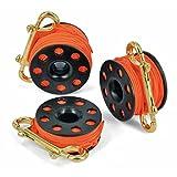 Best Divers ml0060or 渔线轮,Diver 中性 - 成人,黑色,15 米