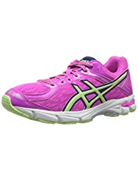 ASICS GT 1000 4 GS Running Shoe (Little Kid/Big Kid) Pink Glow/Pistachio/Indigo Blue 6 M US Big Kid