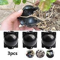 3件套植物根生长设备辅助切割根,无性再现,植物根部装置,高压箱嫁接植物根控制器,植物繁殖空气层囊 M 黑色 WLF213BM
