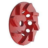 OX Tools OX-PCGS-4 专业 4 英寸杯研磨器,8 段螺旋,2.22 厘米 - 1.59 厘米孔,5 毫米段高 7/8'' - 5/8'' OX-PCGS-4
