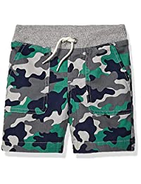 Amazon Brand - 斑点斑马男孩幼儿和儿童套穿短裤