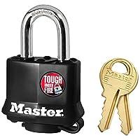 Master Lock 玛斯特锁 全包胶钢千层锁 311D