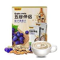 五谷磨房 提子燕麦伴侣280g(28g×10) 五谷伴侣早餐食品燕麦片水果谷物早餐