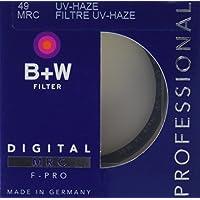B + W49毫米清除紫外线阴霾与多抗涂料 滤镜(010M)