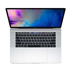 【2018新款】Apple 苹果 MacBook Pro 15英寸笔记本电脑 六核第八代Core i7处理器2.6GHz/16G/512G SSD/Radeon Pro 560X 4G独显/MR972CH/A 银色 苹果电脑 Multi-Touch Bar 套装版【内含罗技无线蓝牙鼠标+Chirslain清洁套装】