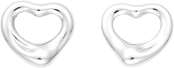 [蒂芙尼] TIFFANY 纯银 艾尔莎·柏瑞蒂 开放式心形 耳环 迷你 【平行进口商品】 12270062