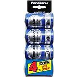 Panasonic 松下 碳性电池大号青电池4粒卡装 R20NU/4SC(特卖)