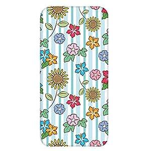 智能手机壳 透明 印刷 对应全部机型 cw-1236top 套 花朵图案 花 UV印刷 壳WN-PR446496 Huawei GR5 KII-L22 图案 A