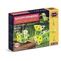 Magformers My First Forest World 套裝(32 件)磁性積木,教育磁性瓷磚套件,磁性建筑 STEM 套裝