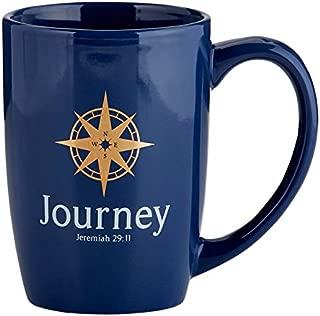 Journey Jeremiah 29:11 陶瓷咖啡杯礼物,16 盎司
